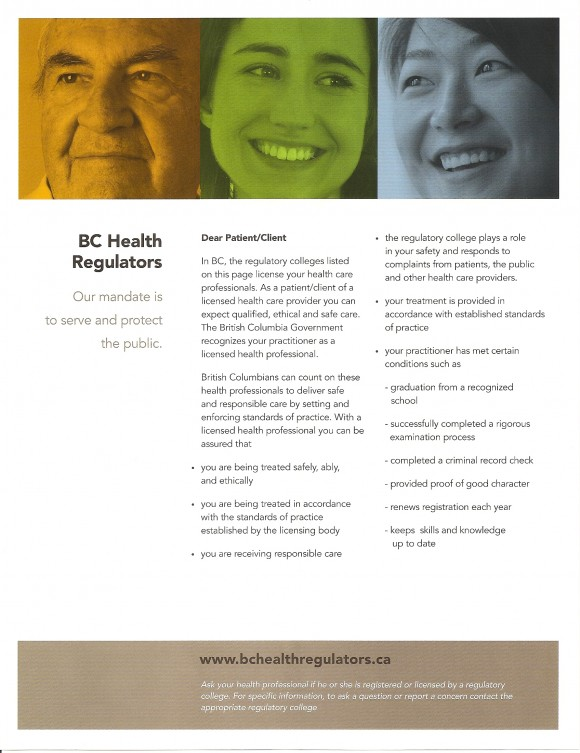 BC Health Regulators-1